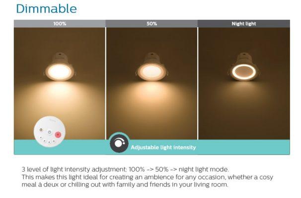 3 cap do sang led downlight