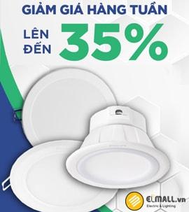 Đèn led âm trần Philips, Đại lý đèn led downlight Philips chính hãng