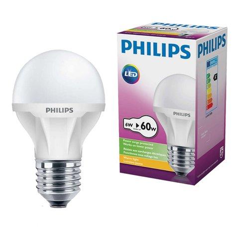 bong den ecobright led bulb 6 60w philips