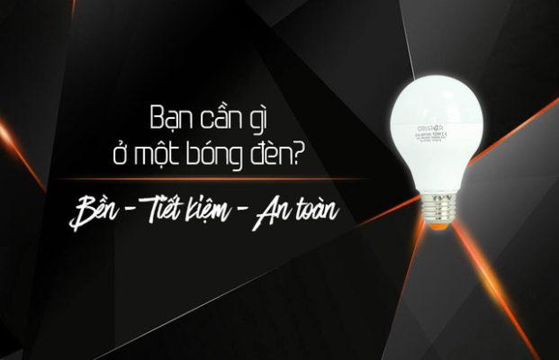 Mách nhỏ cách lựa chọn đèn led chất lượng