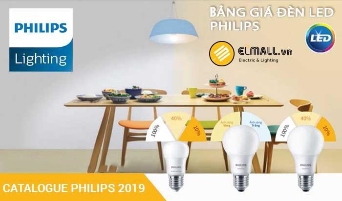 Bảng giá đèn led Philips chính hãng 2019