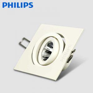 đèn âm trần chiếu điểm gd022b 1x6w 10w philips