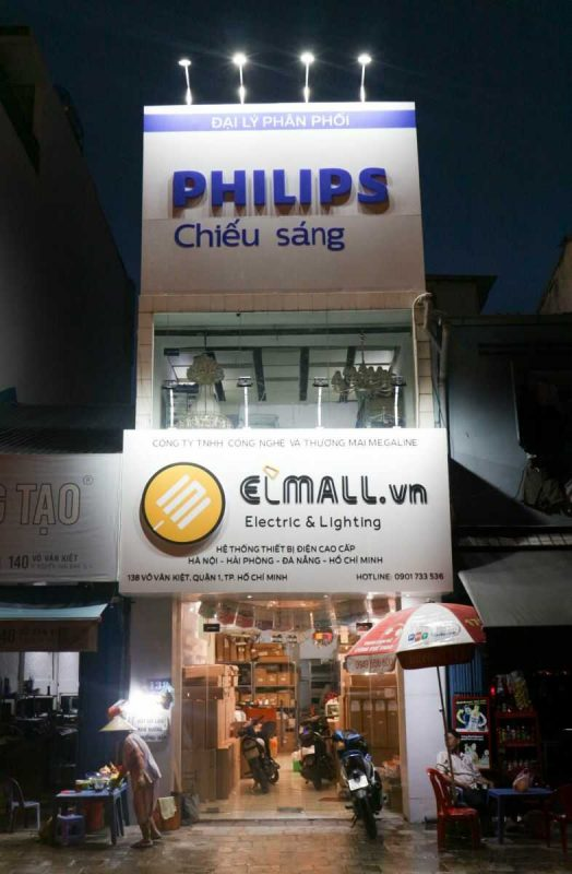Showroom philips TPHCM: 138 Võ Văn Kiệt, Quận 1, Hồ Chí Minh