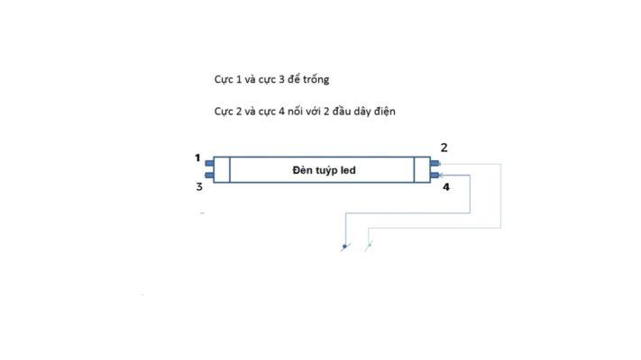 Hướng dẫn chi tiết cách tự lắp đèn tuýp LED