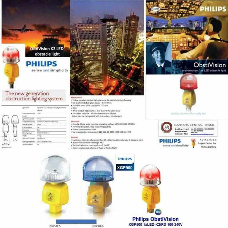 Tính năng đèn báo không XGP500 Philips