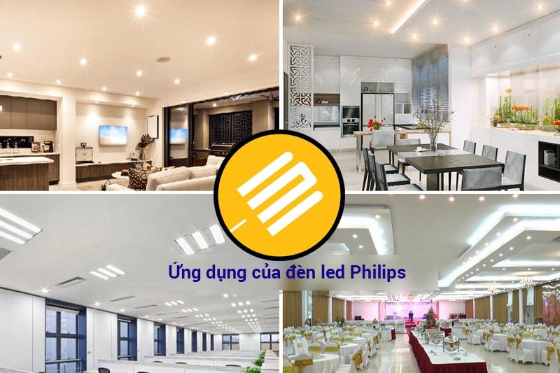 Đèn led Philips được ứng dụng vào cuộc sống ở các lĩnh vực nào?