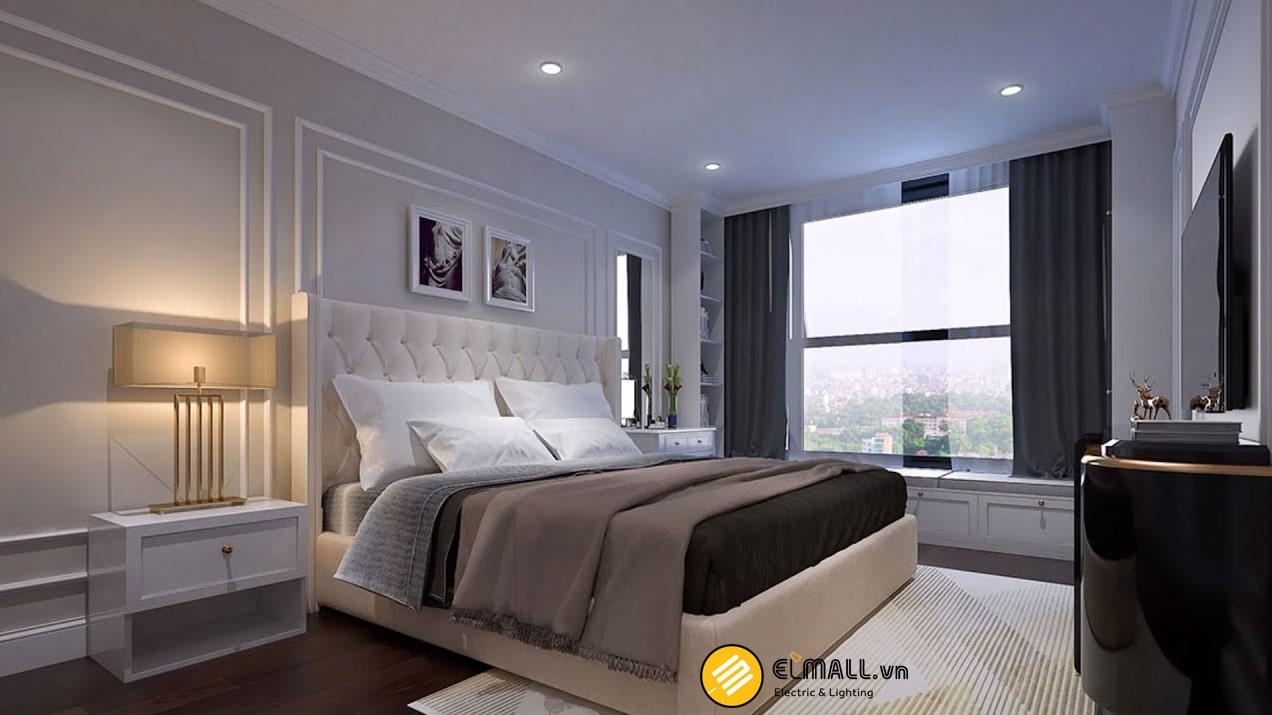 Lựa chọn đèn led chiếu sáng phòng ngủ