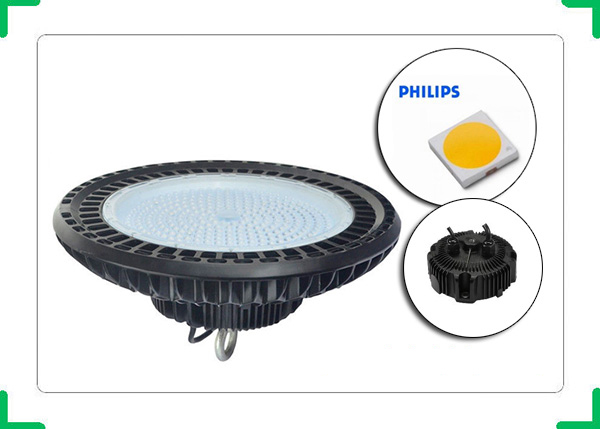 Đèn led nhà xưởng UFO Philips   Cấu tạo, đặc điểm của đèn highbay UFO