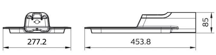 kích thước đèn led philips smartbright brp131 led100 100w