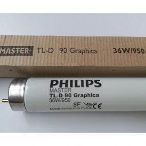 đèn soi màu d65 philips tl-d 90 graphica 36w/965