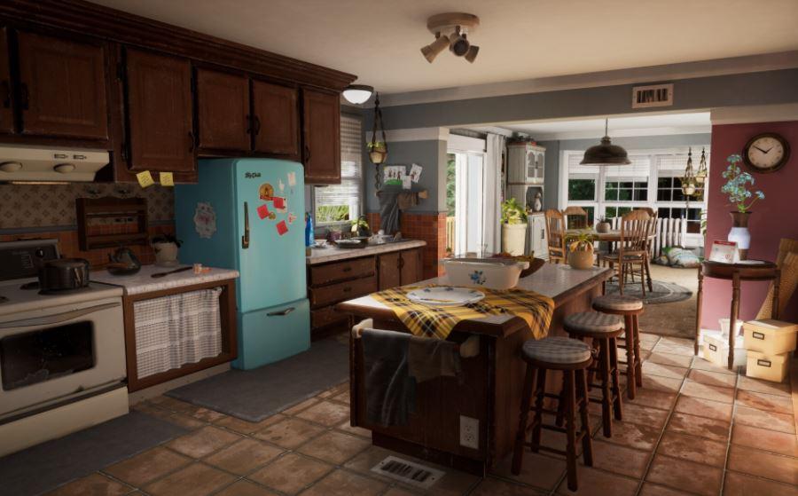đèn trang trí không gian nhà bếp
