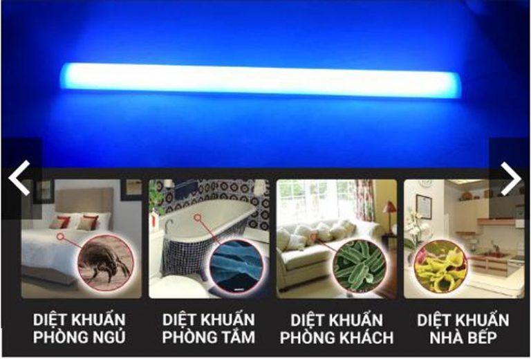 đèn diệt khuẩn uvc khử trùng tại nhiều phòng