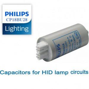 Tụ điện đèn cao áp CP18BU28/ CP 18CP28 250V Philips