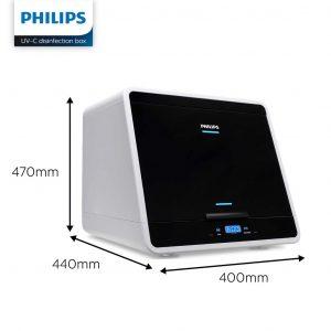 Tủ khử khuẩn UV-C mini Chamber Philips 48L 36W UVCC090 12